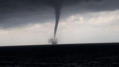 """صورة """"إعصار لبنان"""".. خبير يشرح ما حصل أمس ويكشف موعد تحسن الطقس"""