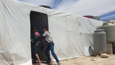 صورة مسلحون يطلقون النار على خيم عائلات سورية في بعلبك