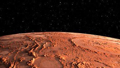 صورة ناسا تنشر صورة تبهر الأبصار من الكوكب الأحمر.. شاهدوها