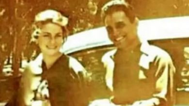 """صورة صورة تنشر للمرة الأولى… عبد الحليم حافظ وحبيبته """" جي جي"""""""