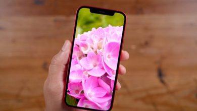 """صورة بشاشة خارقة.. """"أبل"""" تستعد لطرح هاتفها الجديد """"أيفون 13"""""""