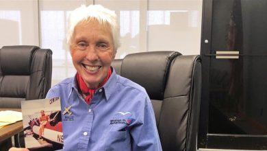 صورة من نساء ميركوري 13.. رائدة حُرمت من الفضاء تحقق حلمها بعمر الـ82 عاماً (صور)