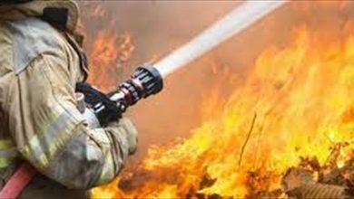 صورة بعد جهد دام 8 ساعات.. اخماد حريق ضخم في المطرية الجنوبية