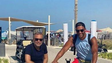 صورة ظهور نادر لنجل ممثل مصري شهير.. هل يشبهه؟