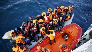 صورة تونس.. إنقاذ 100 مهاجر في مياه منطقة الوسط