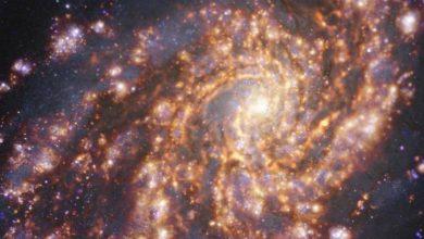 صورة اكتشاف 6 مجرات في الفضاء!